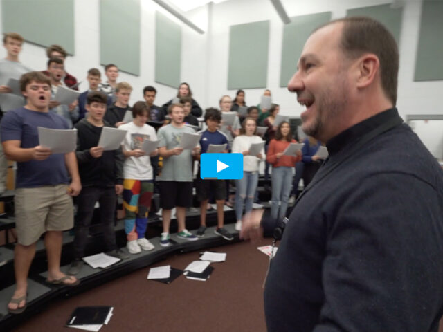 St. Augustine High School Chamber Singers ~ Vatican Trip