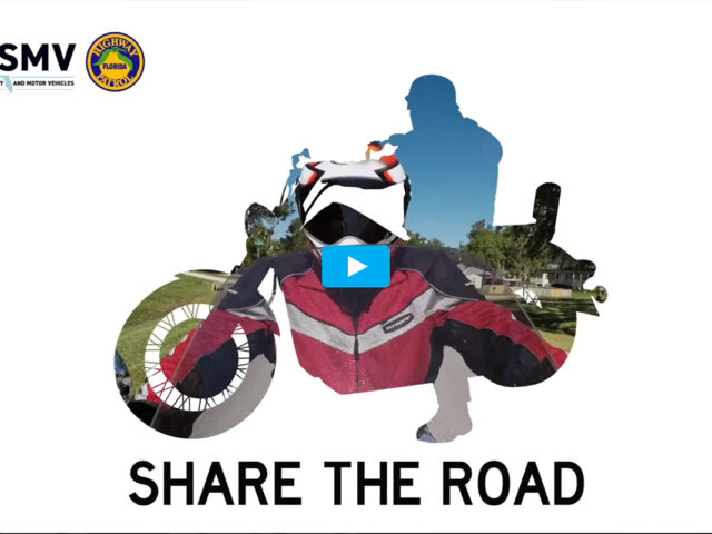 Motorcycles :15 Share The Road ~ FLHSMV